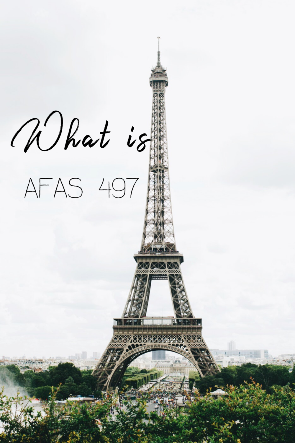 What is AFAS 497