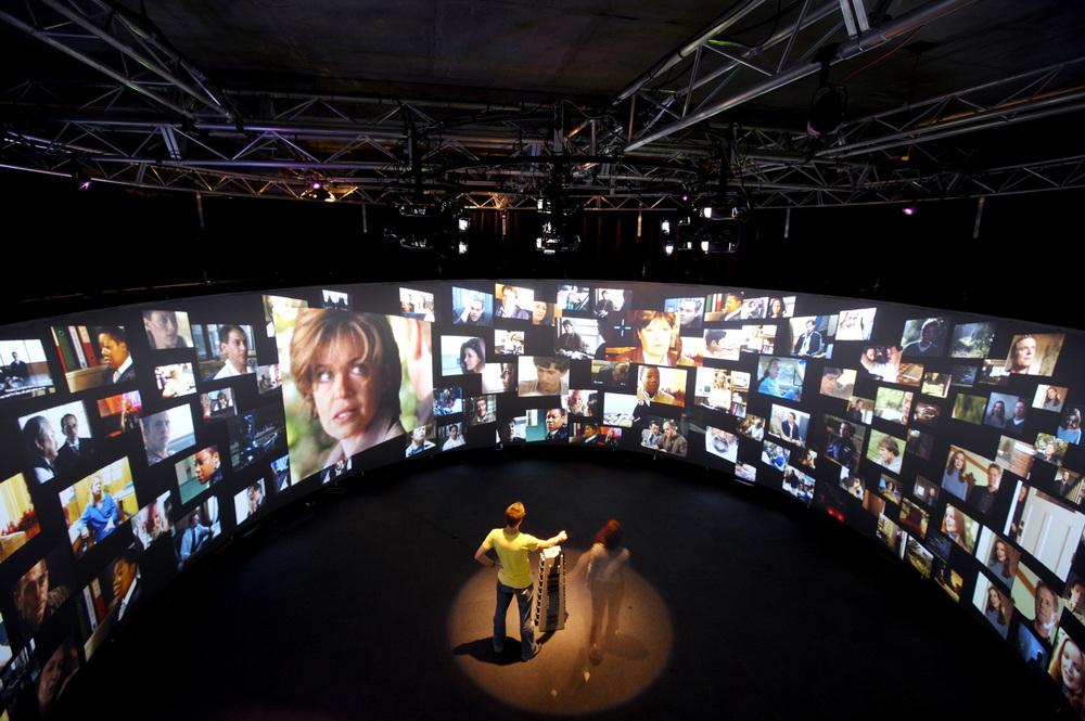 DENNIS DEL FAVERO, T_VISIONARIUM (INSTALLATION PHOTO), Ivisionarium UNSW, 2008