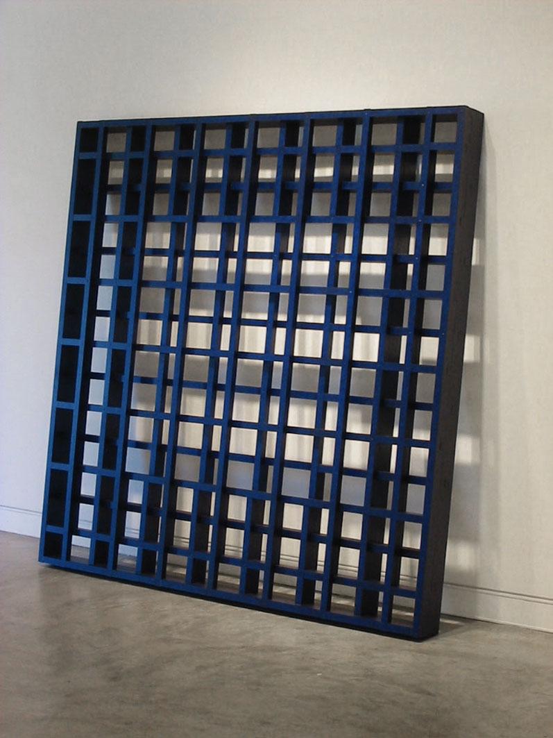 HILARIE MAIS, GRid V, 200 x 200 cm, 2007