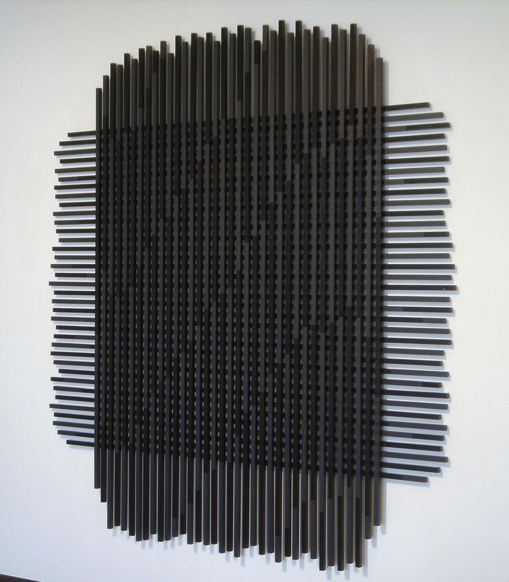 HILARIE MAIS, rise, 160 x 160 cm, 2003