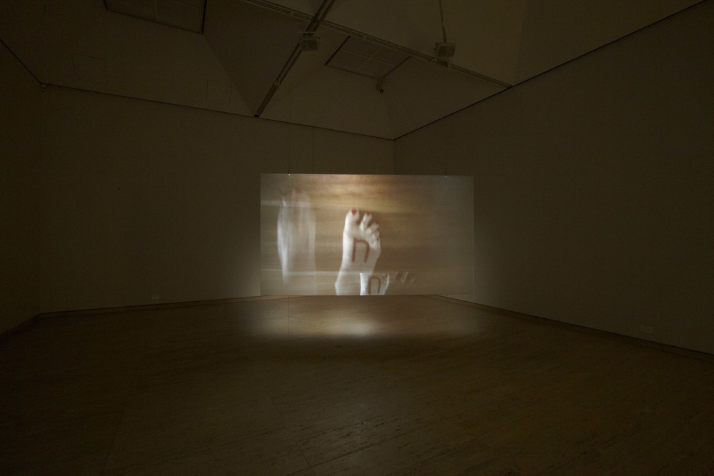 EUGENIA RASKOPOULOS, FOOTNOTES, PROJECTION, INSTALLATION, AGNSW