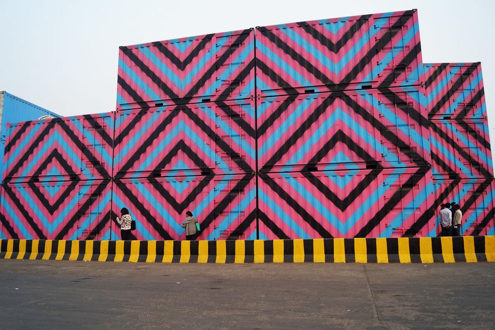 REKO RENNIE, Installation in Delhi,photo by Ankita Siddiqui, 2016