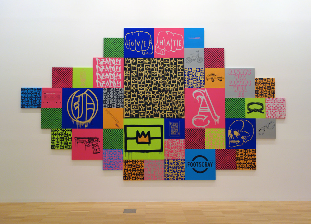 REKO RENNIE, INITIATION at NGV for Melbourne Now, 2013