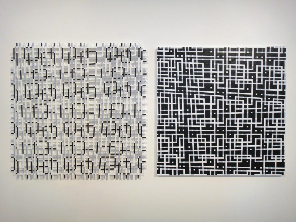 Hilarie MAIS, MIST II 121 x 121 cm 2 parts, 2015