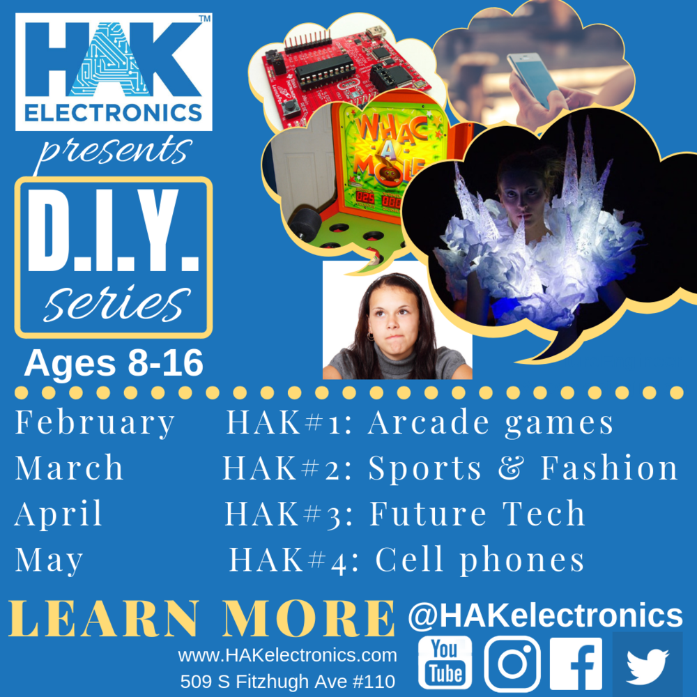 HAK STEM DIY session for kids