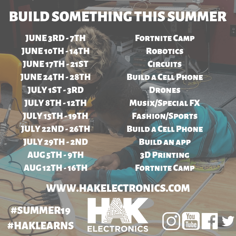 Build Something This Summer! -