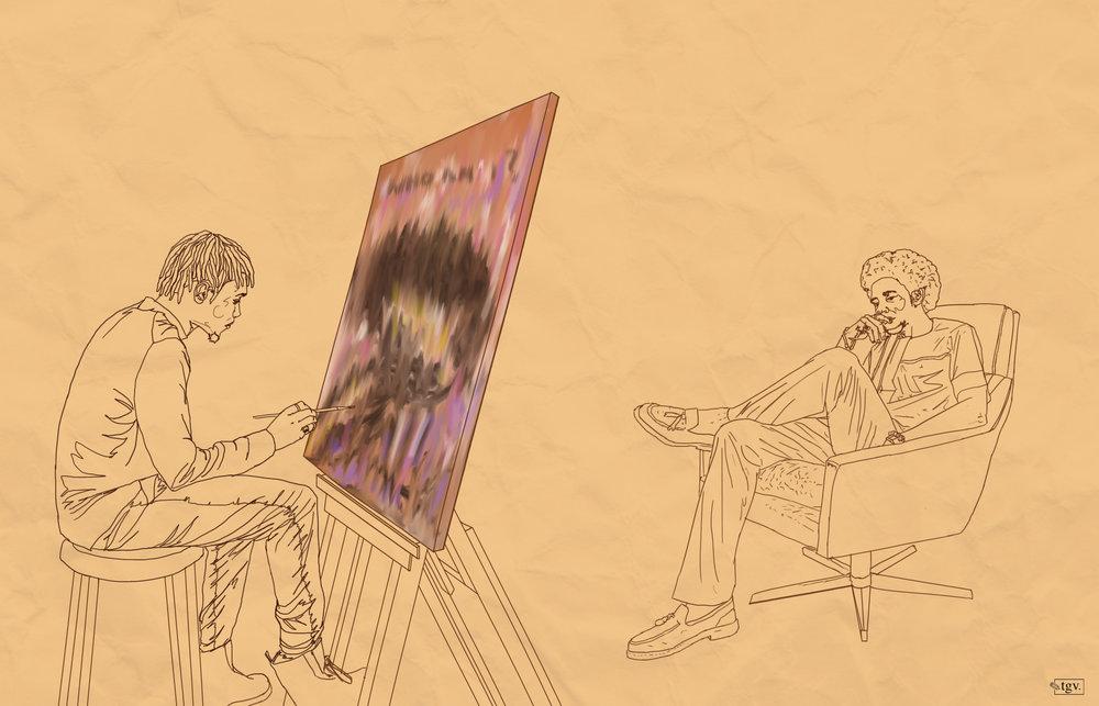 The Musing Self II  — Ugonna Ikechi, 2019