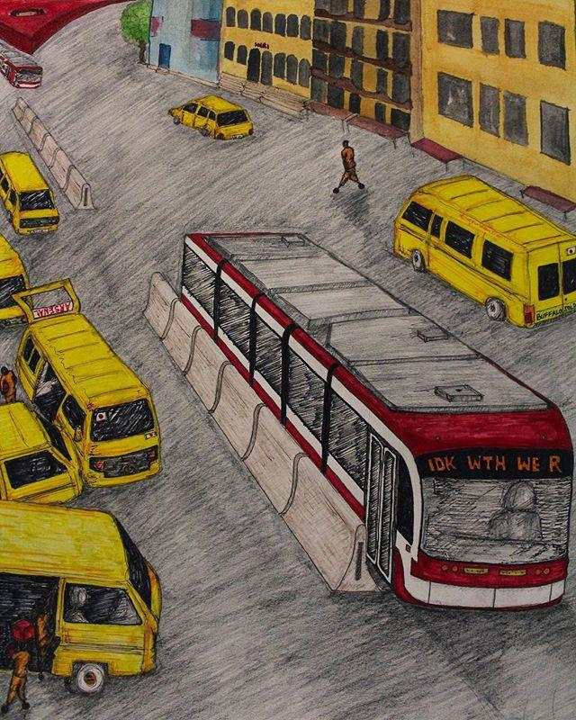 IDK WTH WE ARE.. . . . . . . . .  #thegunnavision #art #graphite #pencil #drawing #sketch #markers #watercolor #mixedmedia #illustration #artist #nawden #sketch_daily #artoftheday #torontoartist #sketchbook