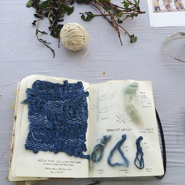The first of our #indigo workshops at #sheepandwoolfestival is done and it was so wonderful to share the story of indigo with such an inspiring and engaged group / #naturalindigo #textilelove #plantdye #plantpigment #naturallydyed #naturaldyes #farmtofabric #fiberhousecollective