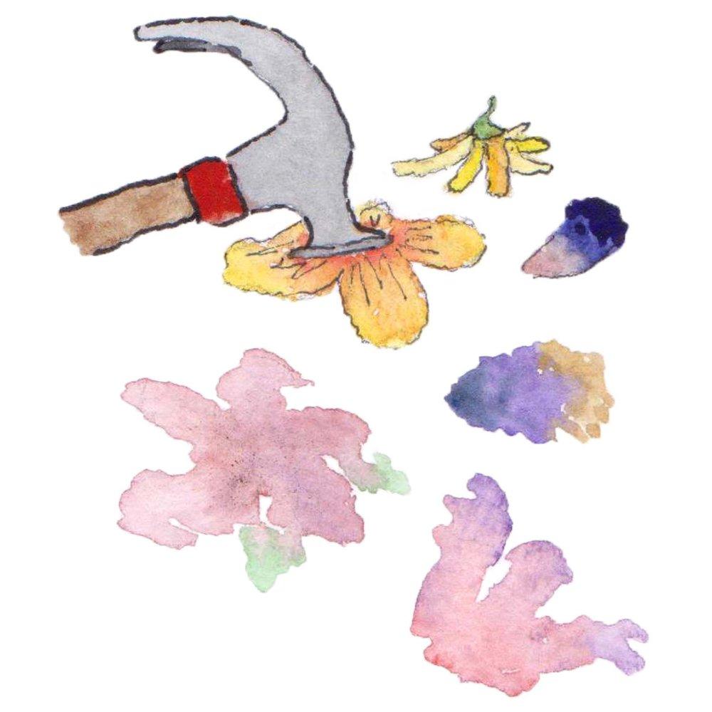 smashing flowers fiberhouse collectve