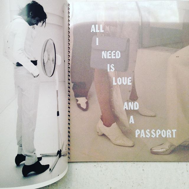 Same. And photo books. Such as the Marfabulous Courrèges Book, a tribute to the relaunch of courageous Paris-based fashion label Courrèges by the equally adventurous folks at Marfa Journal and IDEA. Spiral bound, 178 pages.