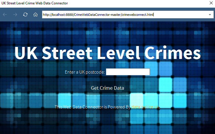 UK Street level crimes