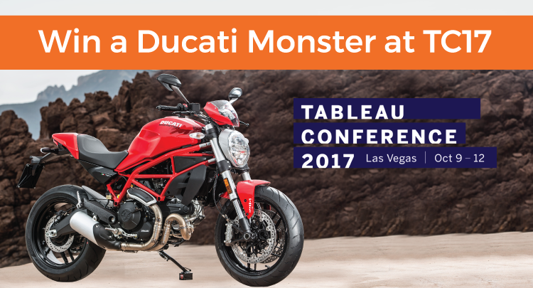 Win a Ducati monster at TC17
