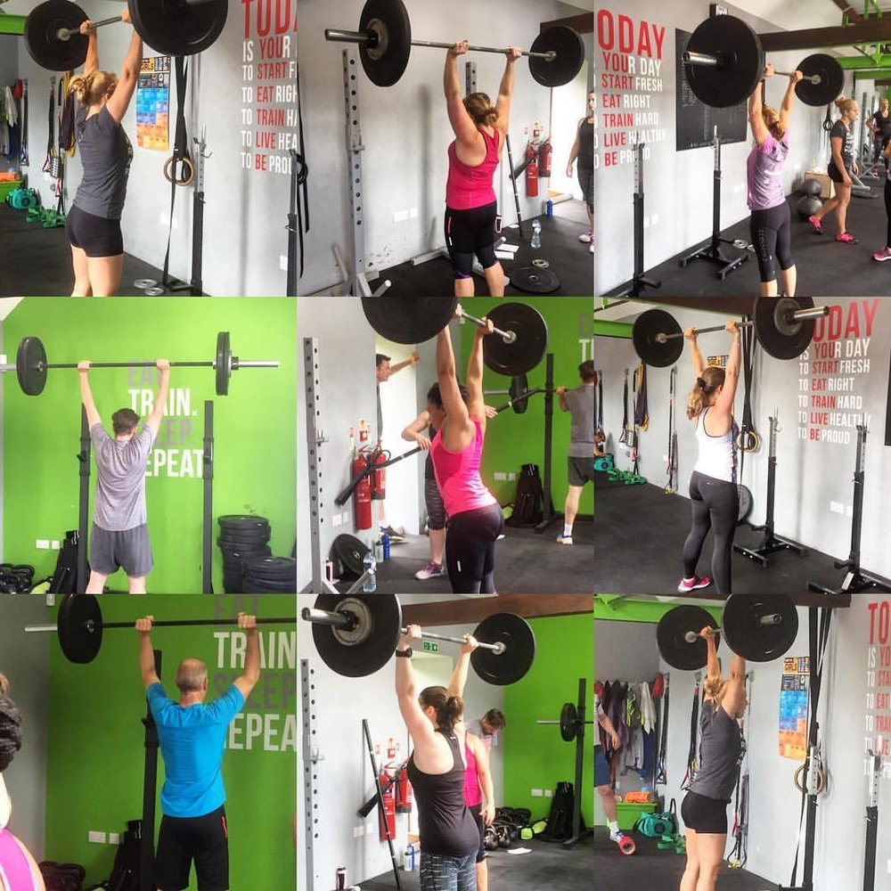 All our workouts are in small groups and led by a qualified CrossFit coach
