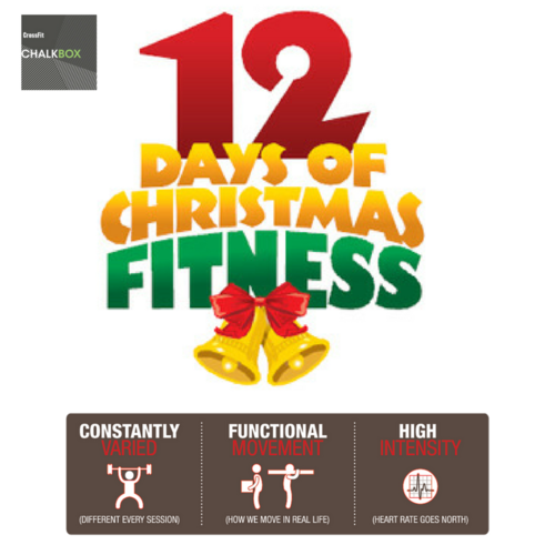 12 Days of Fitness starting Tuesday! - Everyone is invited to join in. All workouts are for all abilities. If you are not on unlimited membership we ask you to donate £2.50 for every session. We will double the donations and give to a local charity. We have done that now for 3 years in a row!Read more