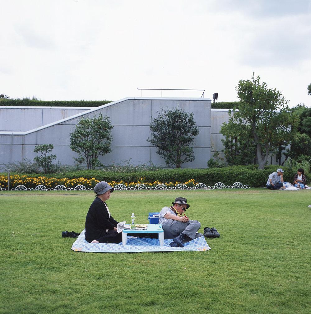 Hanshin racecourse, Nigawa, Japan, 2017.