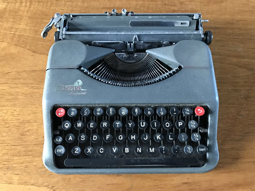 Empire Typewriter - as good as it ever was.