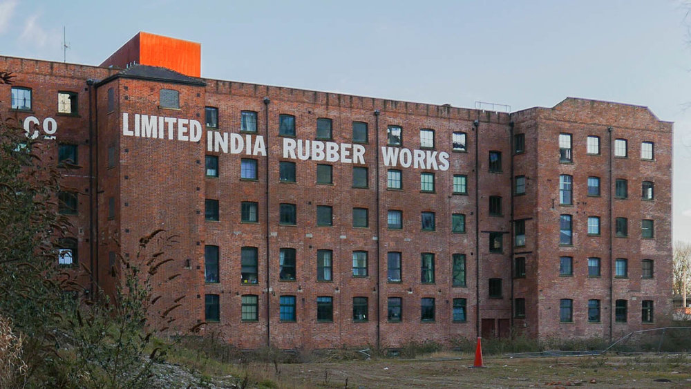 India Rubber Works, Manchester England