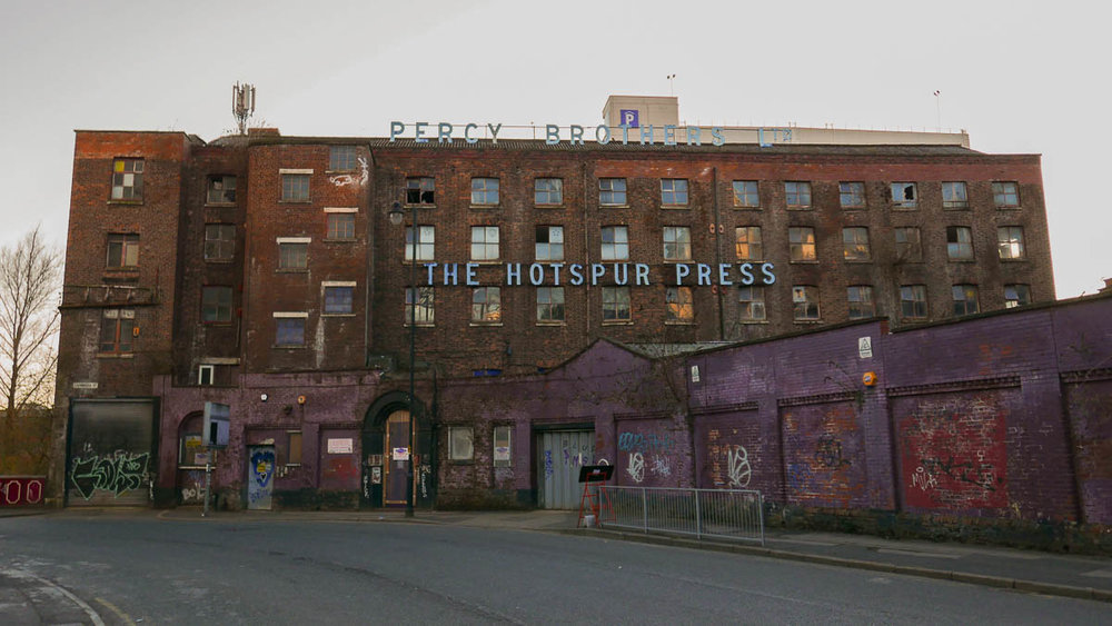 The Hotspur Press, Manchester England