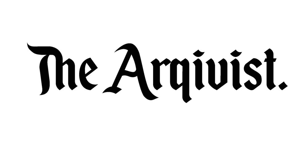 New text for the Arqivist logo