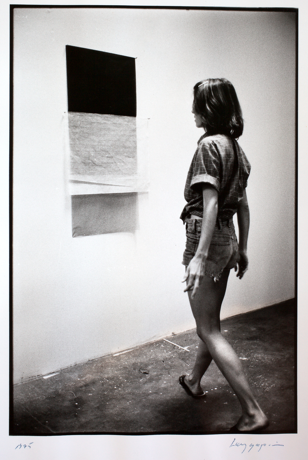 Photo by Larry Gagosian |  Natalie Bieser, Los Angeles 1975