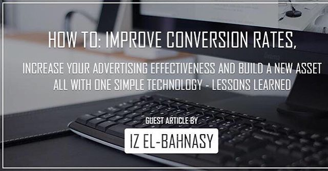 How to improve conversion rates...an article we guest wrote on Carson Shopify blog, includes good tips :) #shopify #shopifypartners #ecommerce