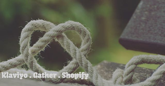 Gather now integrates nicely with Kalviyo through Shopify #shopify #ecommerce #emailmarketing read more about it on bio link @gathercustomers
