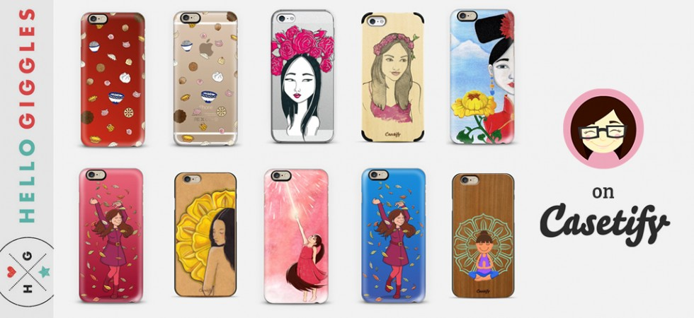 Hello Giggles Phone Cases