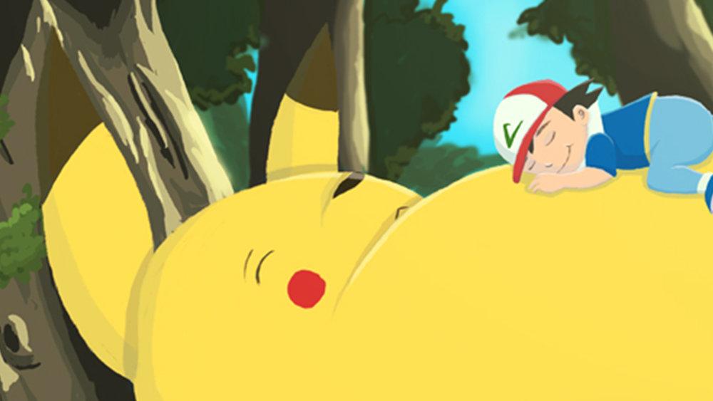 Pikachu Totoro thumbnail
