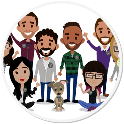 Yeeldr - Curtis Smith, Co-Founder - Steff created personalized illustrations of each member of our company, as well as group graphics for us to feature. Her illustrations are always met with an enthusiastic response from our followers.