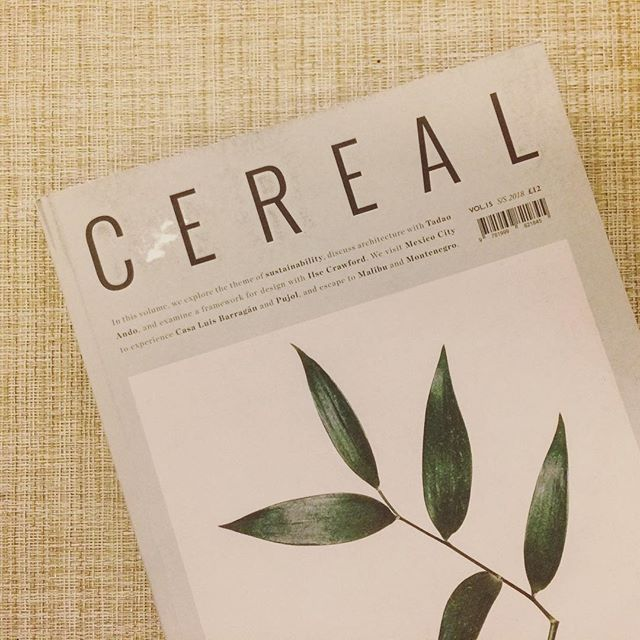 Quirky reads @cerealmag ✨