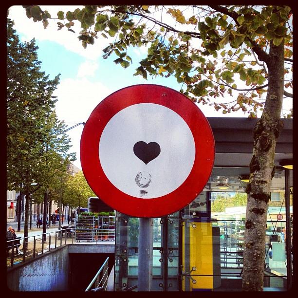 T'estimo (Taken with  Instagram  at Kouter)