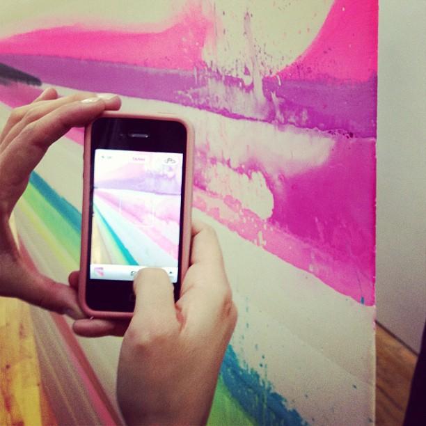 Meta-art (Taken with  Instagram  at Stedelijk Museum voor Actuele Kunst (S.M.A.K.))
