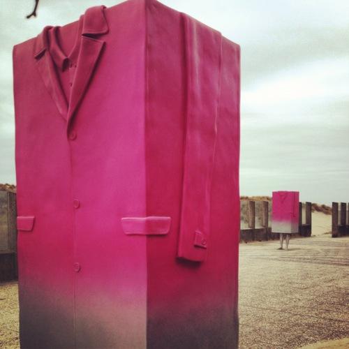 Big Coat by Erwin Wurm