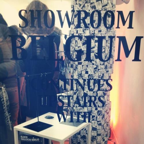 Showroom Belgium @ Paris