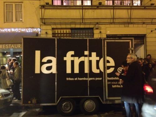 La Frite @ Showroom Belgium Paris