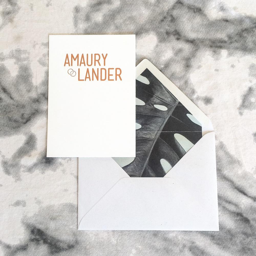 uitnodiging amaury en lander