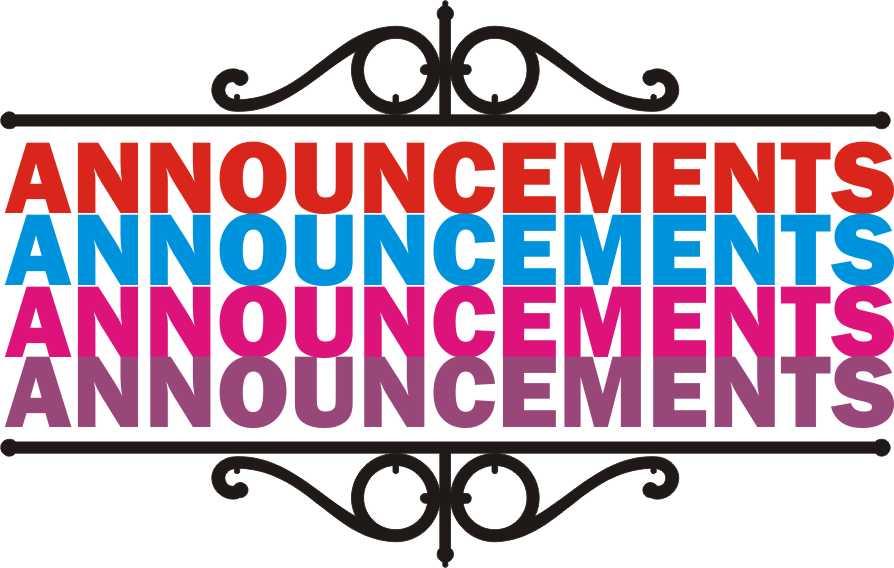 announcements first christian church florence al