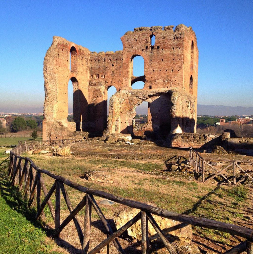 Why is Villa dei Quintilii important? - Originally owned by the Quintilii brothers who were murdered by emperor Commodus in order to take possession of it, this 100+ acre villa has yielded some of the most important findings from Rome and boasts a massive bath complex, Circus, gardens, and imperial residence.