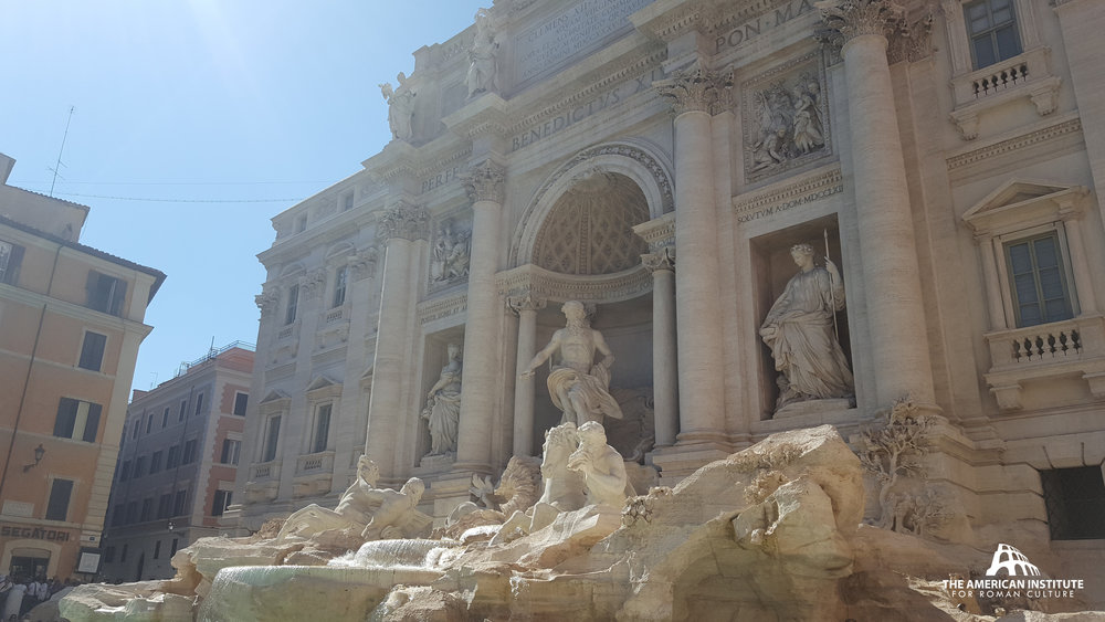 Trevi Fountain, restoration by Fendi