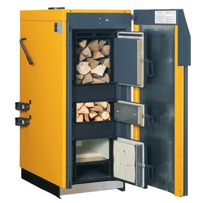 Log Biomass Boiler