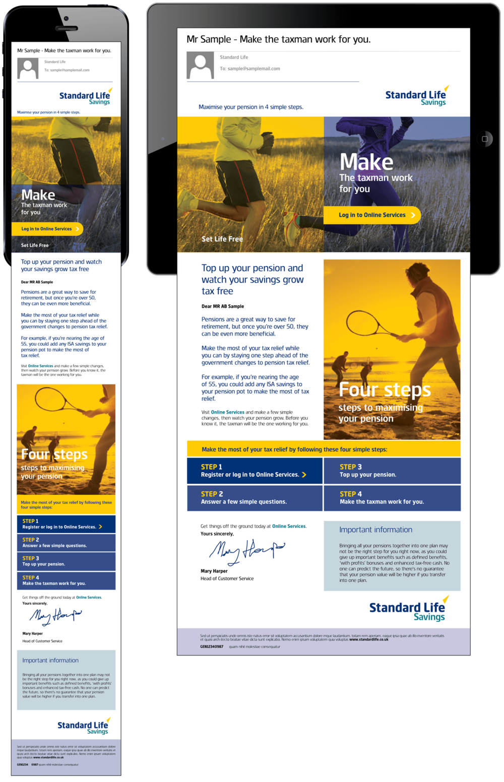 Standard life james bradley direct email marketing falaconquin