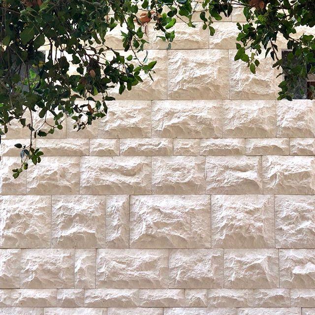 Patterns/Textures - work in progress In Northcal #contemporaryarchitecture #modernarchitecture #leavesandstone #stone #pattern #textures #bayareamodern #architecturelover