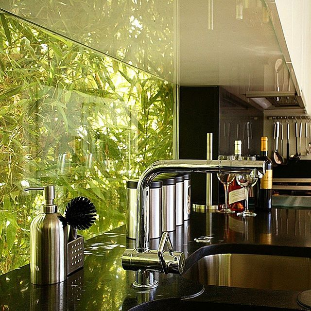 Villa Bamboo - Kitchen Project in South of France.