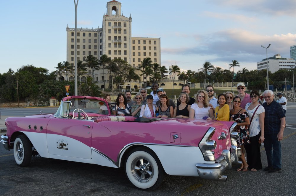 2019 Alumni Antique Care Ride at Hotel Nacional