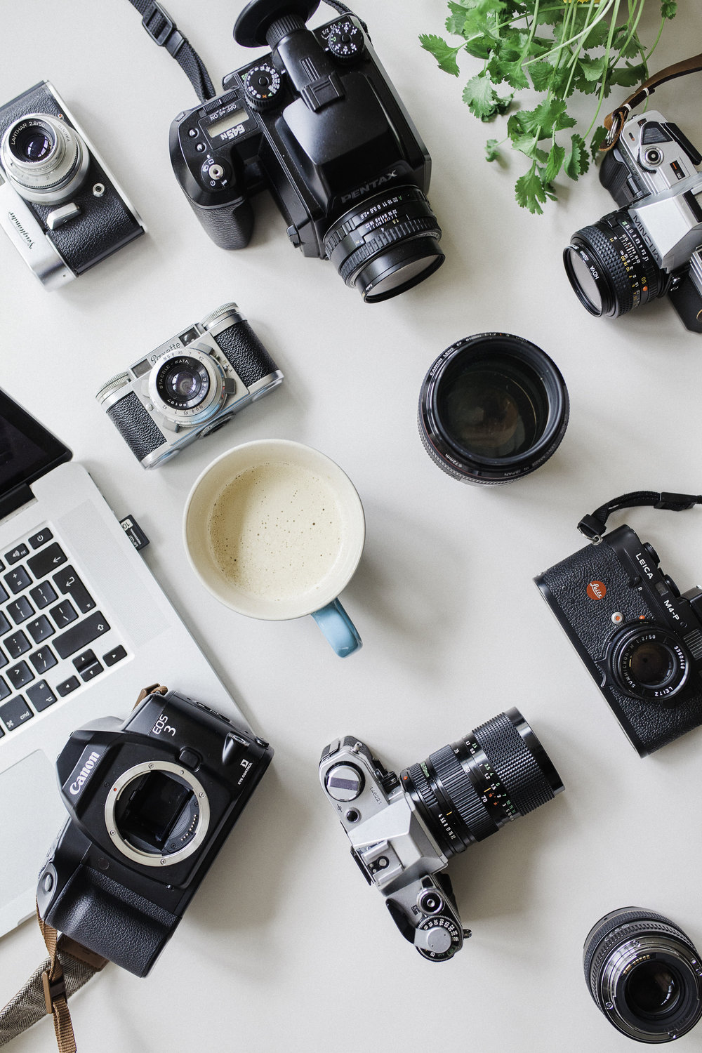 - Homework: Photograph one still object and adjust the ISO, Aperture, and Shutter Speed individually. You will quickly learn how each component depends on each other to make a correct exposure.