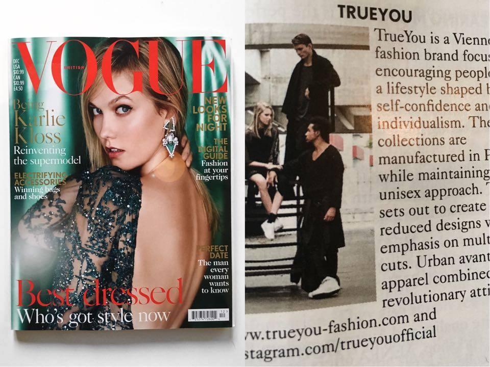 TrueYou in Vogue