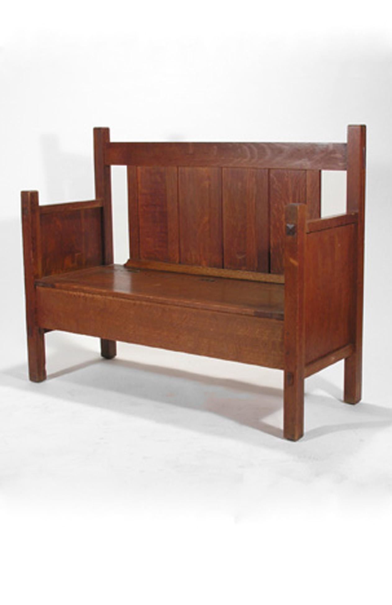 design shop desk signed dining table sold cherry stickley leaves craftsman set
