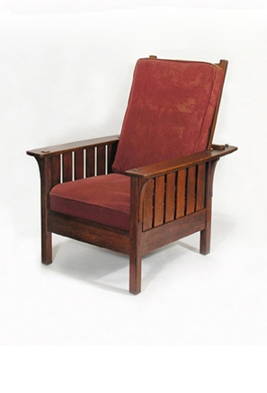 L U0026amp; JG Stickley Morris Chair #471,u0026nbsp;original Finish, 31