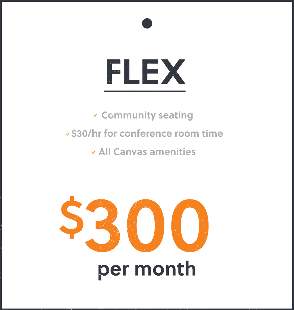 300 Monthly rate - flex plan
